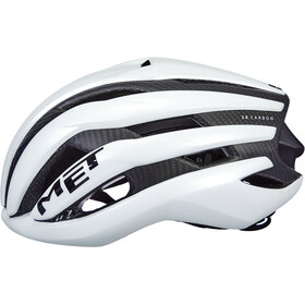 MET Trenta 3K Carbon Casco, white